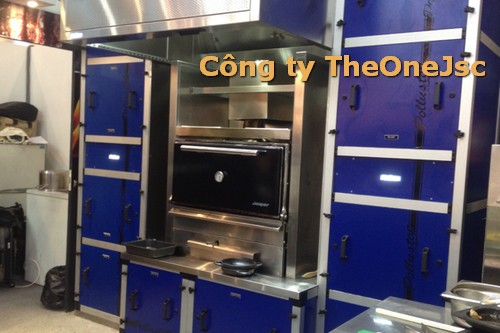 thiết bị dành cho khu sơ chế nhà bếp ngoại nhập