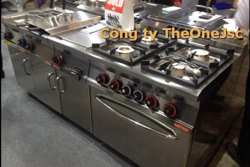 thiết bị bếp nấu chính của bếp khách sạn