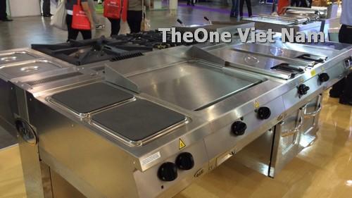 Hệ thống bếp dùng gas cao cấp cho nhà hàng khách sạn