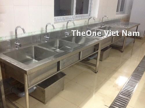 lắp đặt bếp công nghiệp inox tại Hà Tĩnh