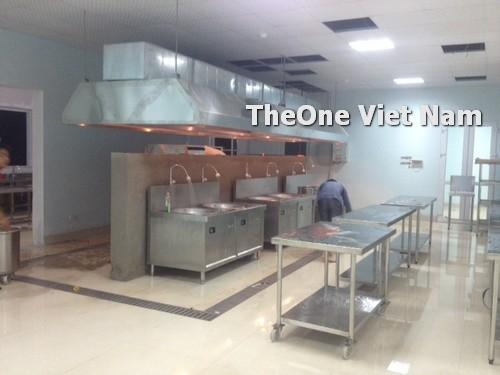 lắp đặt bếp công nghiệp inox tại Hải Phòng