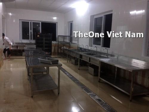 lắp đặt bếp công nghiệp inox tại Quảng Ninh