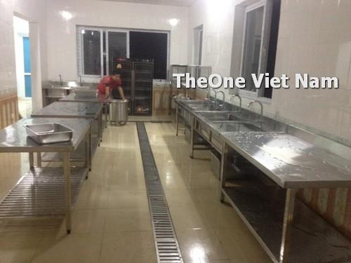 lắp đặt bếp công nghiệp inox tại Bắc Ninh