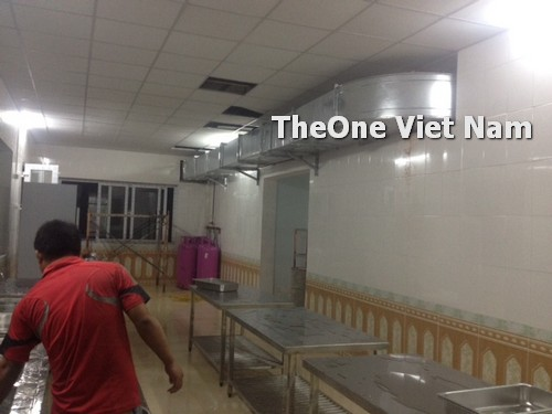 lắp đặt bếp công nghiệp inox tại Bắc Giang