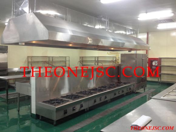 thiết bị bếp nhà máy Bridgestone hải phòng