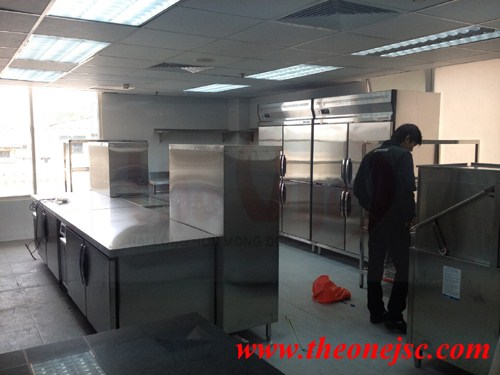 Mo hình bếp nhà hàng inox bếp công nghiệp